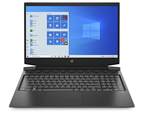 HP - Gaming Pavilion 16-a0001sl Notebook, Intel Core i7-10750H, RAM 16 GB, SSD 512 GB, Nvidia GeForce GTX 1650Ti 4GB, Windows 10 Home, Schermo 16.1