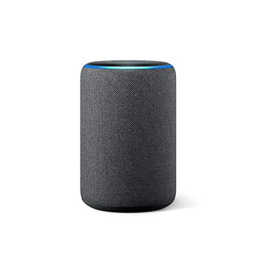 Amazon Echo (3ª generazione) Ricondizionato Certificato, Altoparlante intelligente con Alexa, Tessuto antracite