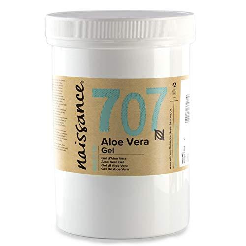 Naissance Gel di Aloe Vera 500g – Cruelty Free e Vegano. Lenisce, Rinfresca e Idrata la pelle. Adatto a tutti i tipi di pelle