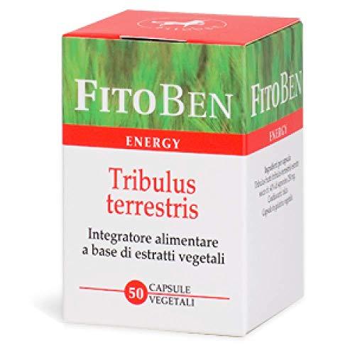 Tribulus terrestris Integratore alimentare naturale tonico contro stanchezza fisica e mentale 50 cps