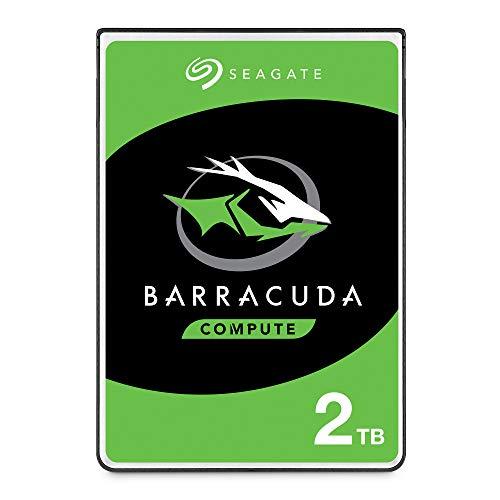 Seagate BarraCuda, 2 TB, Hard Disk Interno, SATA da 6 GBit/s, 2,5