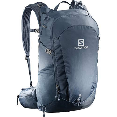 Salomon Trailblazer 30, Zaino Unisex Trail Running Escursionismo Sci Snowboard, Blu (Copen Blue), Taglia Unica
