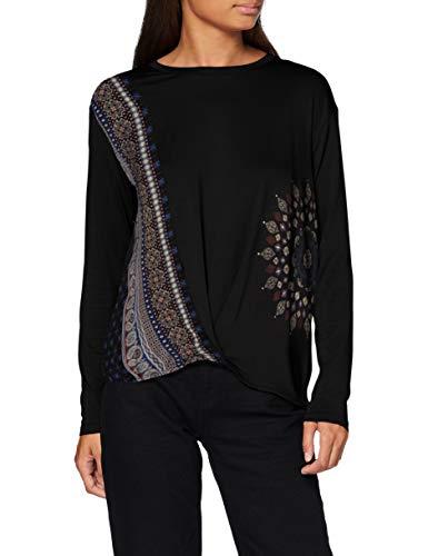 Desigual TS_MARSELLA T-Shirt, Nero, XXL Donna