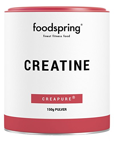 foodspring Polvere Creatina, 150g, Booster per lo sviluppo muscolare, Prodotto in Germania