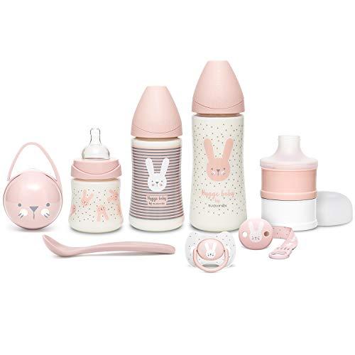 Suavinex Wecolme Baby Set per Neonati, Collezione Hygge Colore Rosa