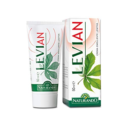 Naturando Levian Crema 50 ML Crema Lenitiva per il Plesso Emorroidario