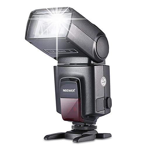 Neewer® TT560 Flash Speedlite per Canon Nikon Sony Panasonic Olympus Fujifilm Pentax Sigma Minolta Leica e altre SLR Digitali SLR Film SLR Camere e Camere Digitali con singolo contatto caldo a slitta