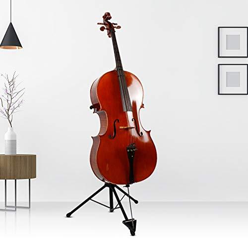 FL - 14 Supporto per violoncello pieghevole Supporto per strumenti musicali Supporto per violoncello treppiede per violoncello