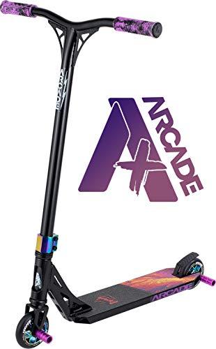 Arcade Pro Scooters Plus - Monopattino per bambini dai 10 anni in su – perfetto per ragazzi e ragazze intermedi – miglior monopattino per BMX freestyle Tricks (ARCADE Plus – Mutant Lava)
