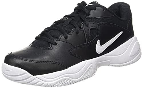Nike NikeCourt Lite 2, Scarpe da Tennis Uomo, Black/White, 44.5 EU