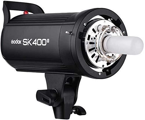 GODOX SK400II Professionale 400 WS Flash Stroboscopico da Studio 2.4 G Wireless X SystemGN65 5600K con 150W Modellazione Lampada