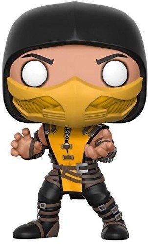 Funko- Pop Vinile Games Mortal Kombat Scorpion, 9 cm, 21685