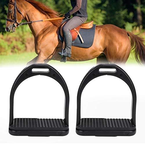 Pssopp Staffe per Cavalli 2 Pezzi, staffe in plastica ad Alta Resistenza Staffe per Equitazione Antiscivolo Staffe per Equitazione Antiscivolo per Sella(S)