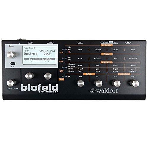 Waldorf Blofeld – Sintetizzatore analogico, colore: nero