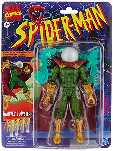 Hasbro Marvel Legends E9637 Series- Marvel Legends Series-Mysterio (Action Figure 15 cm da Collezione, Serie Spider-Man Retro)