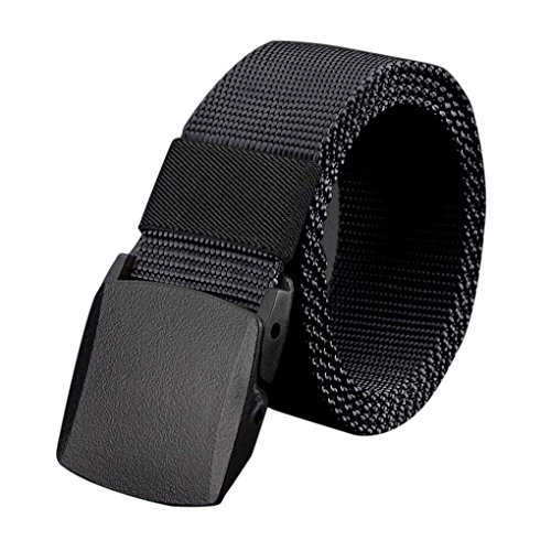 Vollter Cinture Esterne Cintura Nessun Metallo plastica Fibbia Tela da Uomo Casuale Cinghia dei Jeans