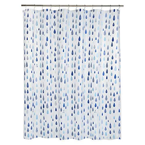 Amazon Basics - Tenda da doccia in polietilene vinil acetato media, aprile, 183 x 183 cm