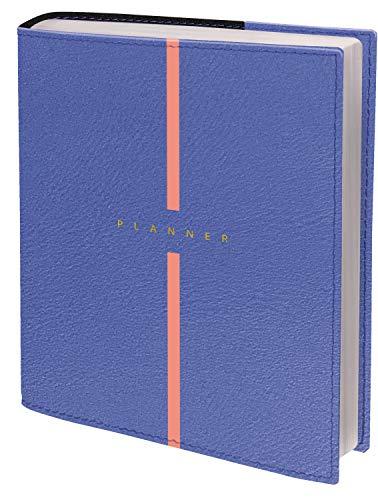 Quo Vadis 158002Q Agenda PLAN DAY Multilingua Anno 2021-2022 Colore Blu Lavanda -Formato 16x16cm Giornaliera 16 Mesi Settembre-Dicembre- Carta Bianca Die Terminkalender : Schreibtischformate