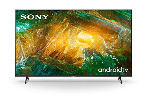 Sony KE75XH8096PBAEP, Android Tv 75 Pollici, Smart Tv 4K Hdr Led Ultra Hd, con Assistenti Vocali Integrati
