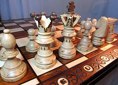 Chessebook Scacchiera in legno (1. 52x52 cm)