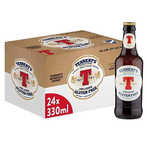 Tennent's Authentic Birra Senza Glutine, Bottiglia - Confezione da 24 x 330 ml